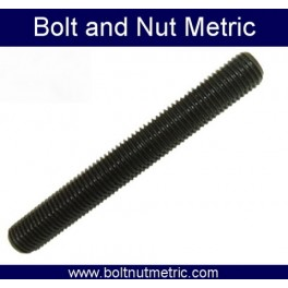 Black threaded rod