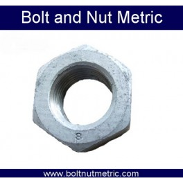 Hot Deep Galvanizing Hex nut
